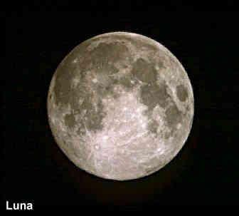 luna el satélite natural de la tierra