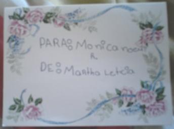 Tarjeta de Martha de sexto vespertino