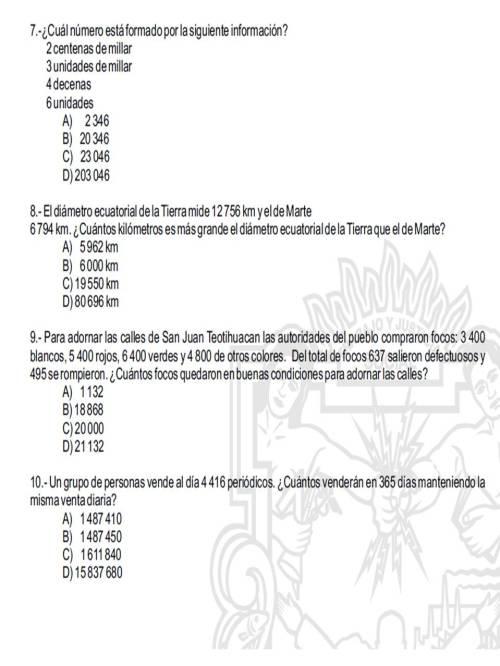 EJERCICIOS ESCOLARES 5to. | 5to. y 6to. Grado